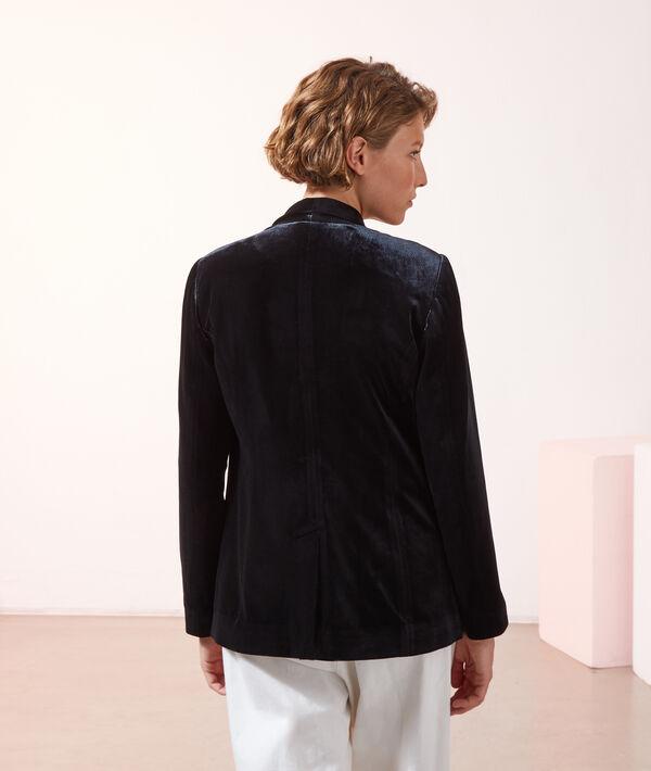 Veste de tailleur en velours