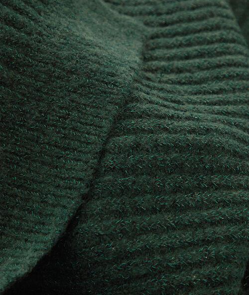 Écharpe fil métallisé