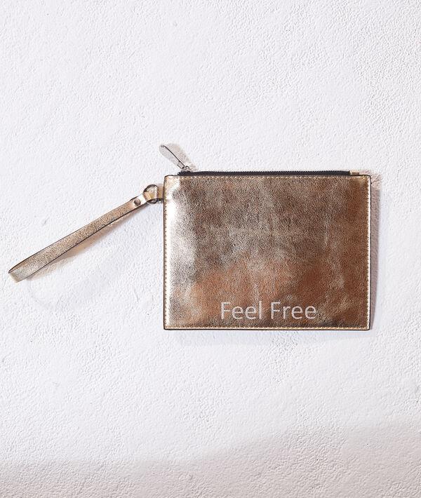 "Sac pochette ""Feel Free"""