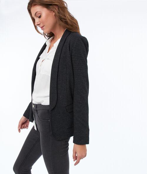 Veste de tailleur col châle