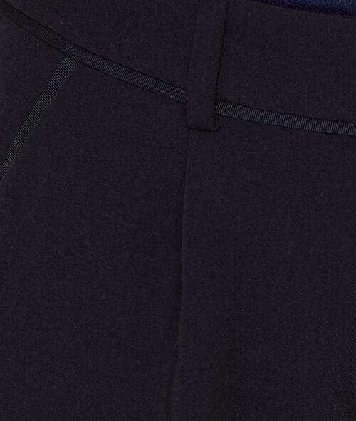 Pantalon évasé à pinces