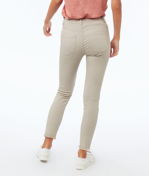 Pantalon slim avec poches zippées
