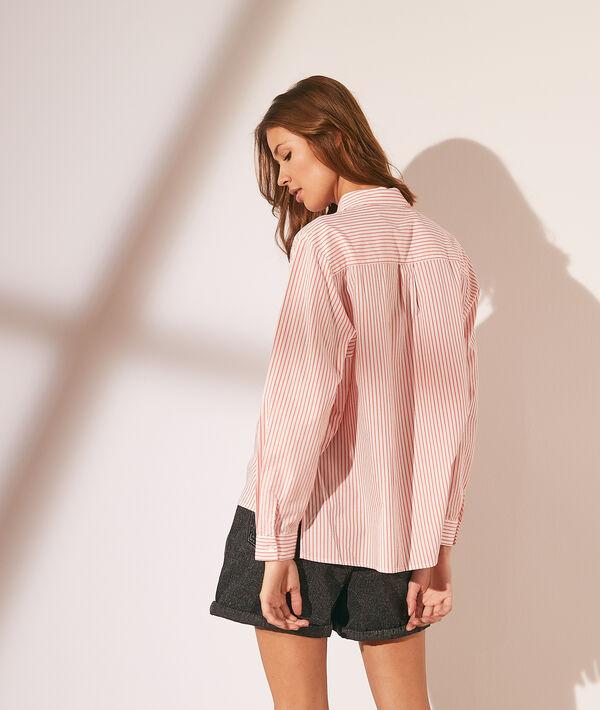 Chemise rayée avec poche