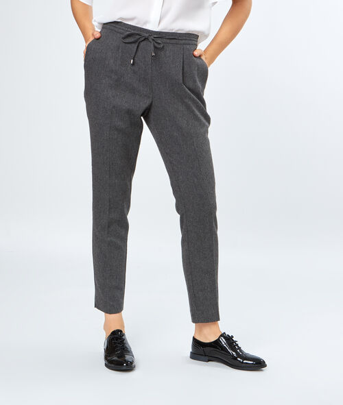 Pantalon 7/8 à pinces