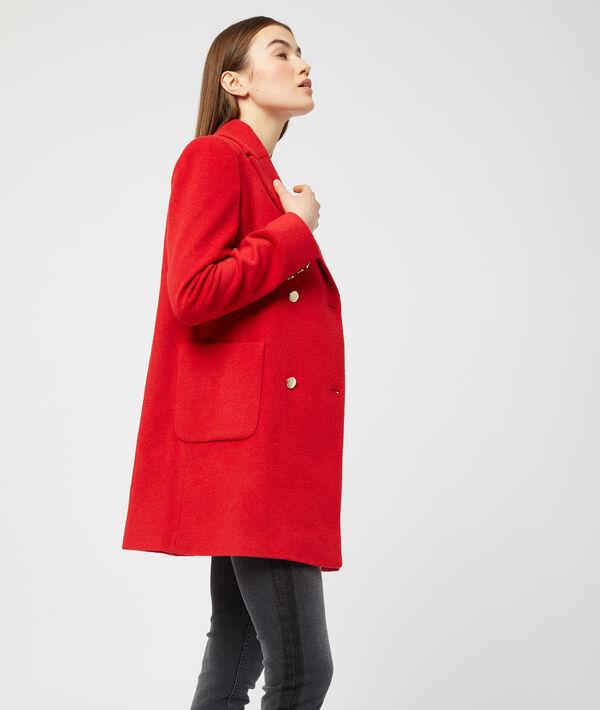 Manteau croisé esprit caban