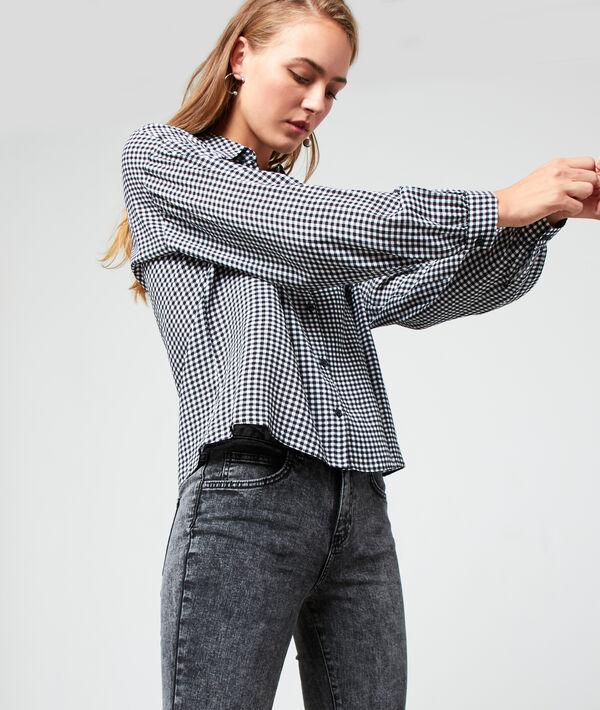Chemise à imprimé vichy