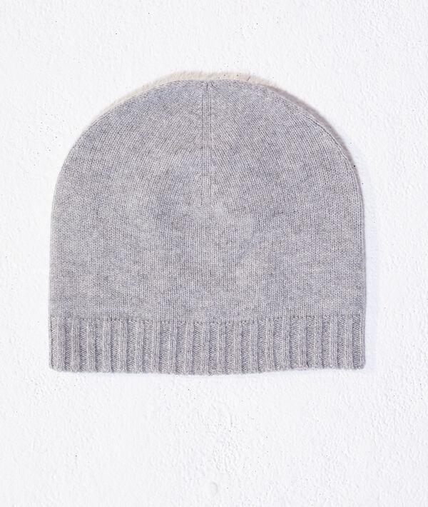 Bonnet en cachemire et laine