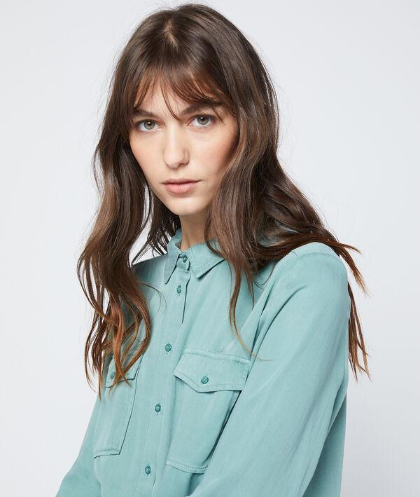 Chemise à liseré en tencel®
