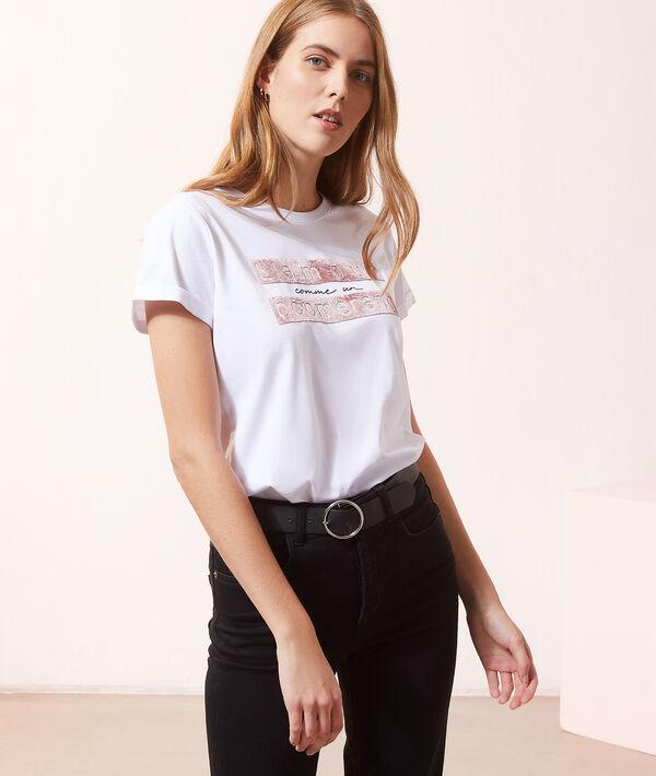"""T-shirt """"L'amour comme un boomerang"""""""