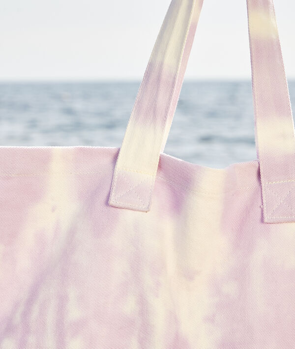 Tote bag tie and dye