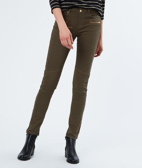 Pantalon poches zippées