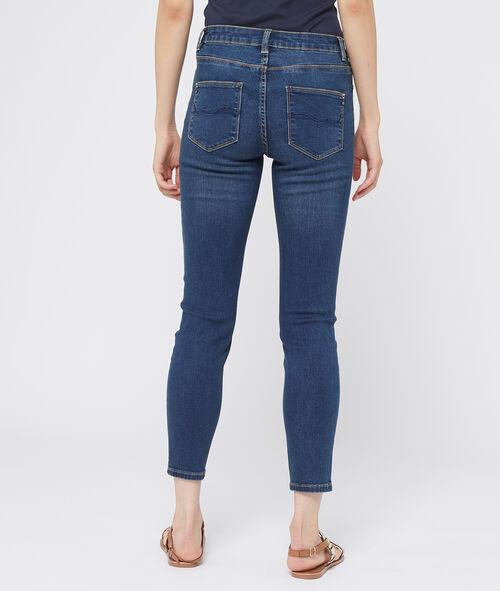 Jean skinny boutonné