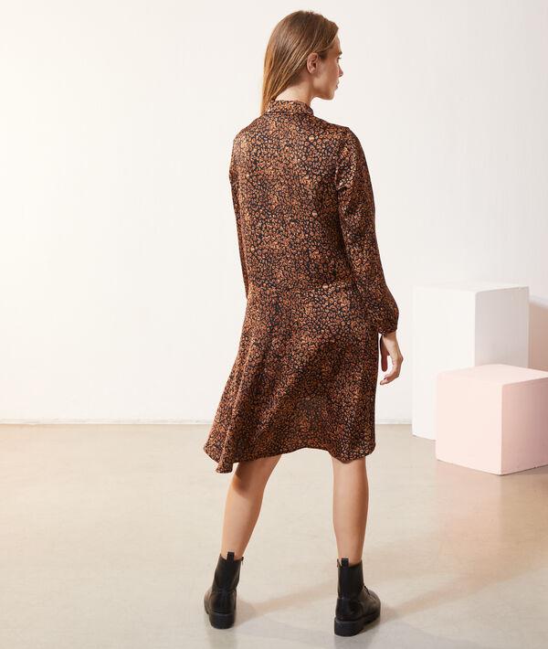 Robe chemise longue imprimé