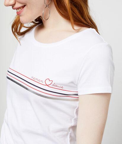 """T-shirt """"Maman Douce"""" en coton"""