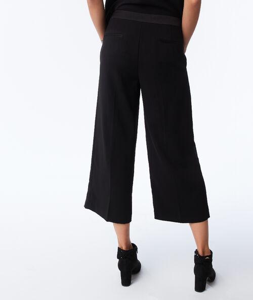Pantalon large avec bande latérale
