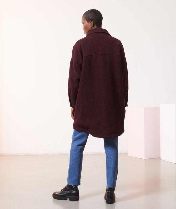 Manteau surchemise mi-long