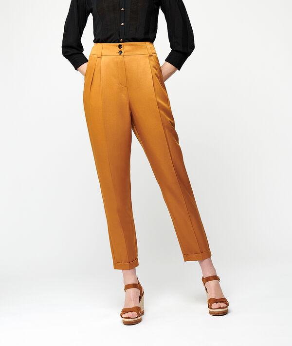 Pantalon carotte