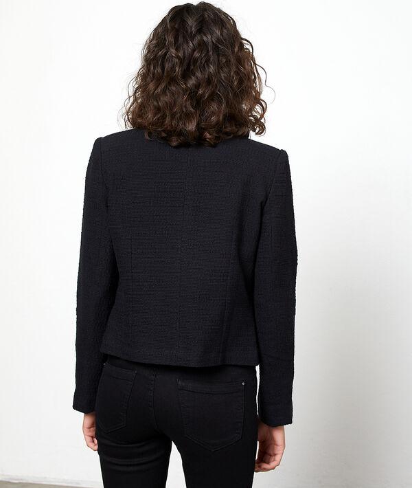 Veste de tailleur effet tweed