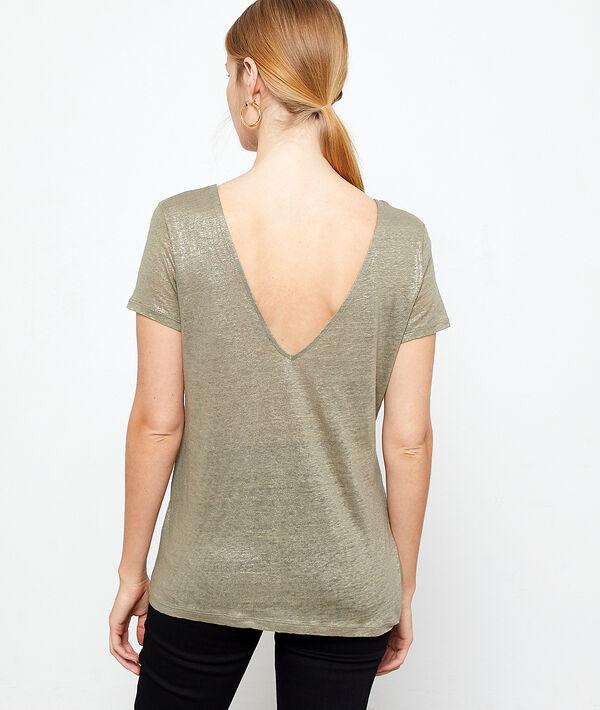 T-shirt métallisé