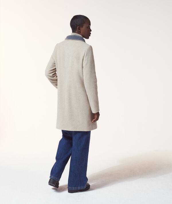 Manteau col montant