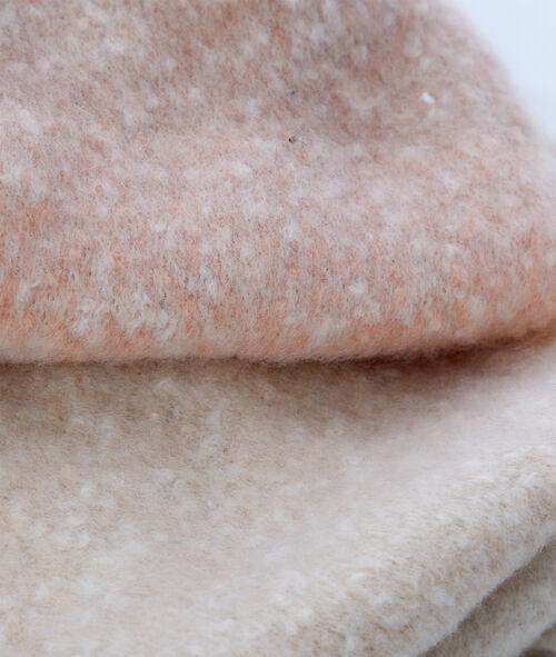Écharpe bicolore