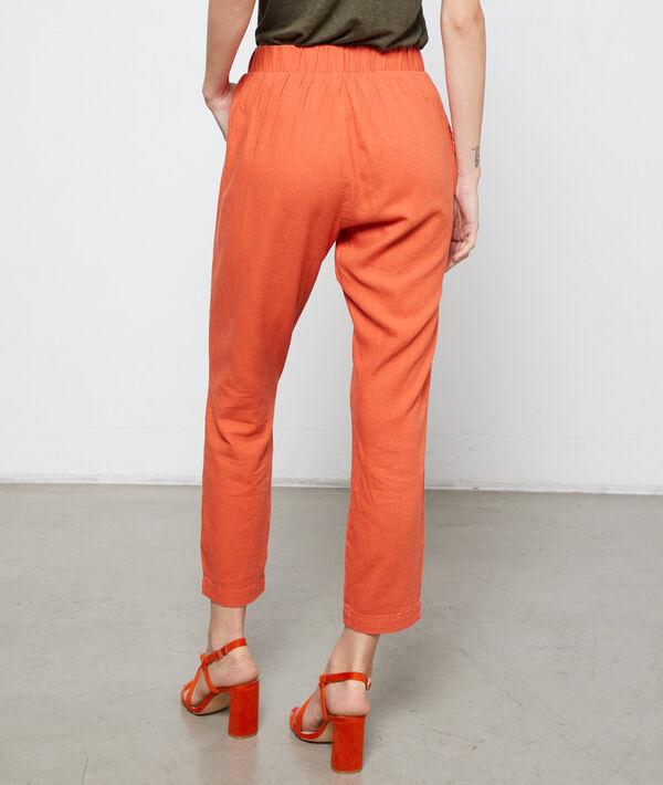 Pantalon carotte à nouer