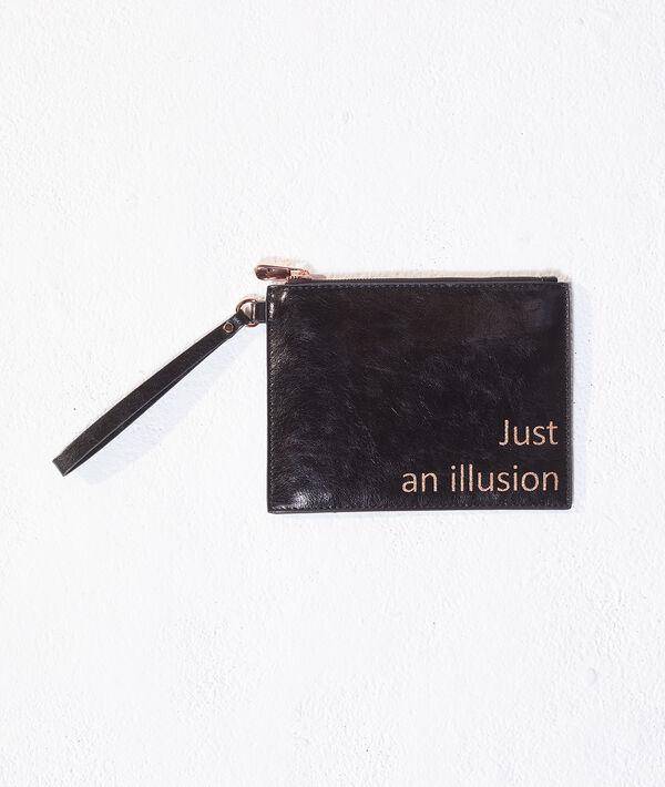 "Sac pochette ""Just an illusion"""