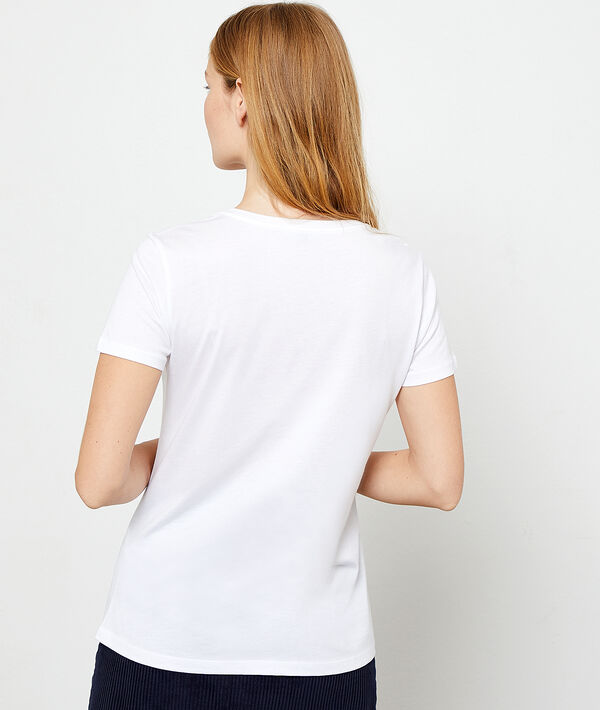 "T-shirt ""Paris"" à broderies"