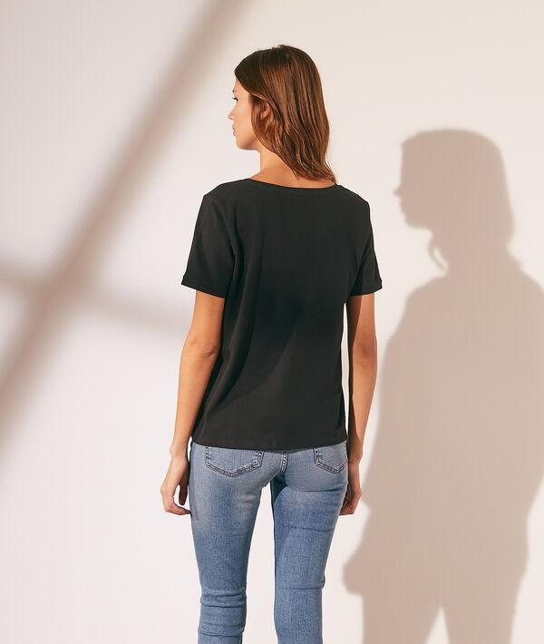 T-shirt basique col V