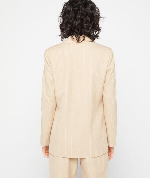 Veste de tailleur à rayures