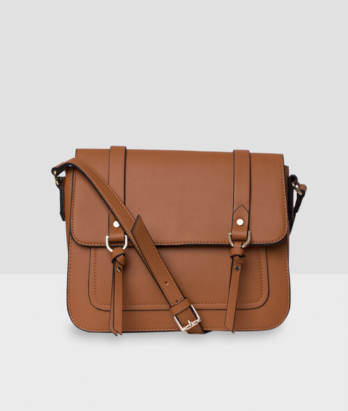 Sac besace style cartable