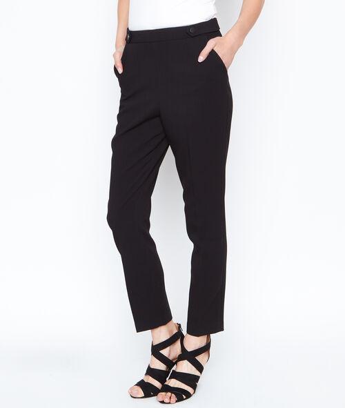 Pantalon droit boutonné