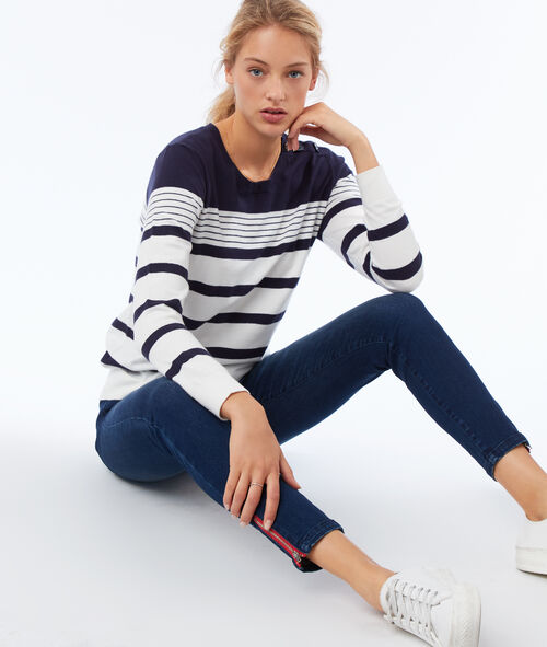 Pull à rayures