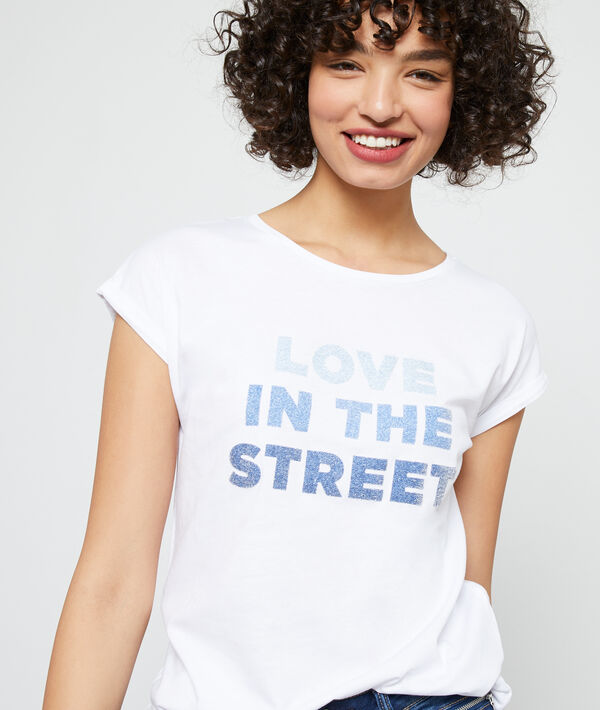 "T-shirt ""Love in the street"""