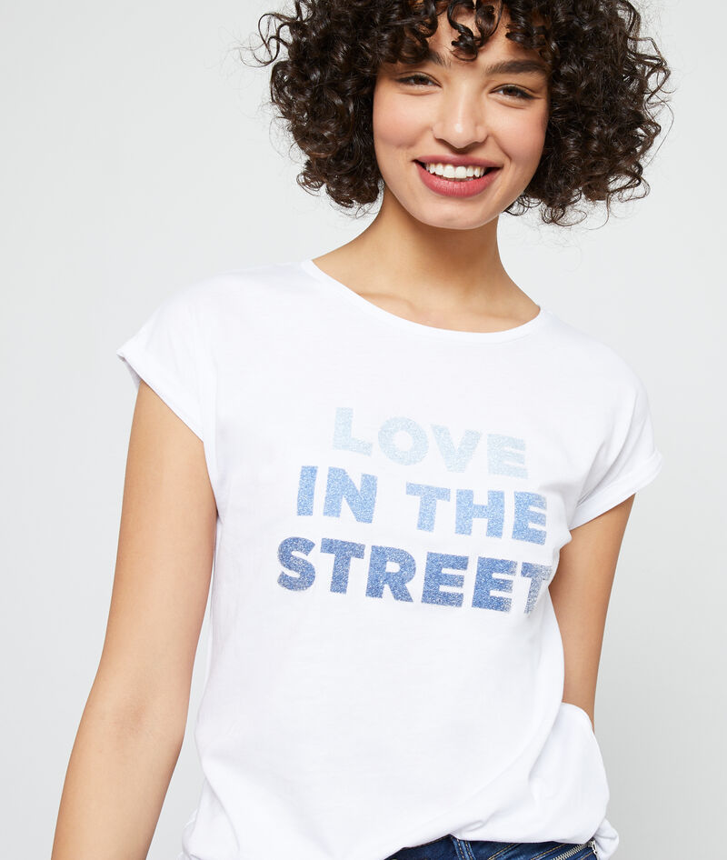 """T-SHIRT """"LOVE IN THE STREET"""""""