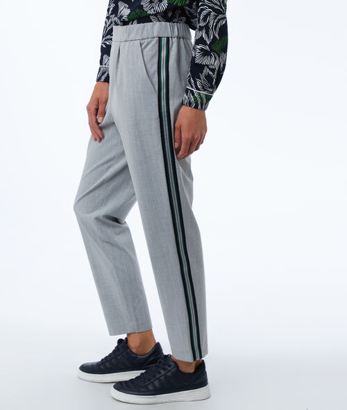 Pantalon avec bandes latérales