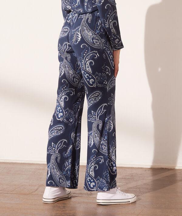 Pantalon imprimé bandana