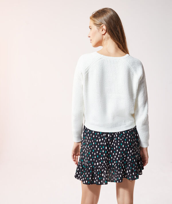 Pull à grosse maille