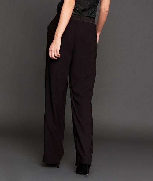 Pantalon de tailleur large