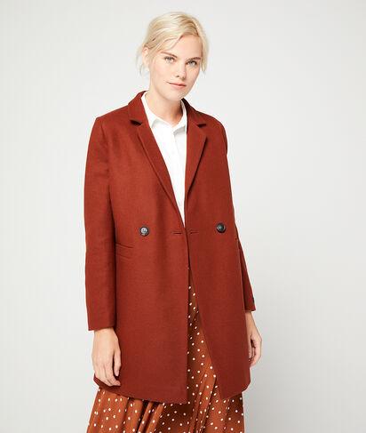 Manteau masculin en laine mélangée