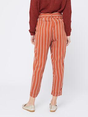 Pantalon carotte en tencel® epice.