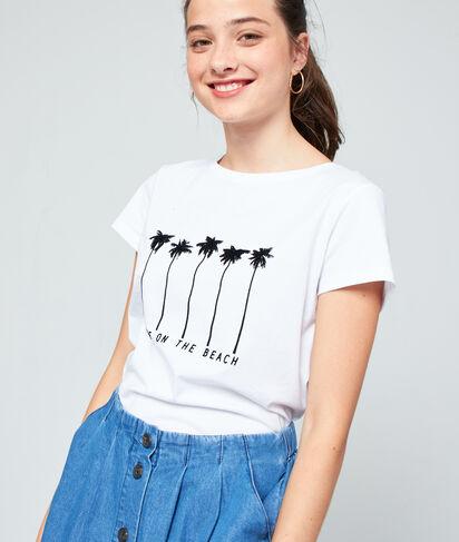 """T-shirt """"Love on the beach"""" en coton"""