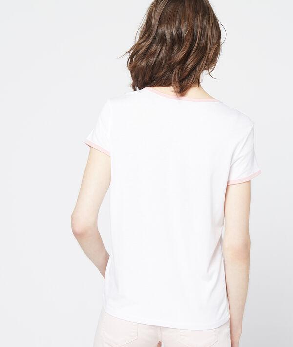 T-shirt imprimé plage