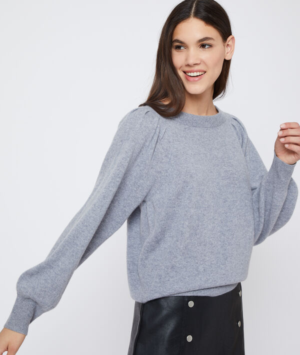 Pull manches larges en cachemire
