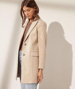 Manteau coupe droite