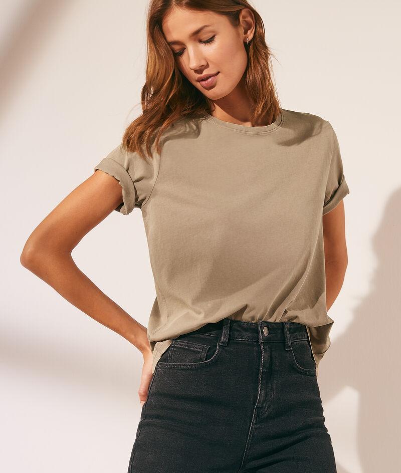 T-shirt basique col rond