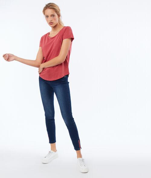 T-shirt col rond 100 % coton