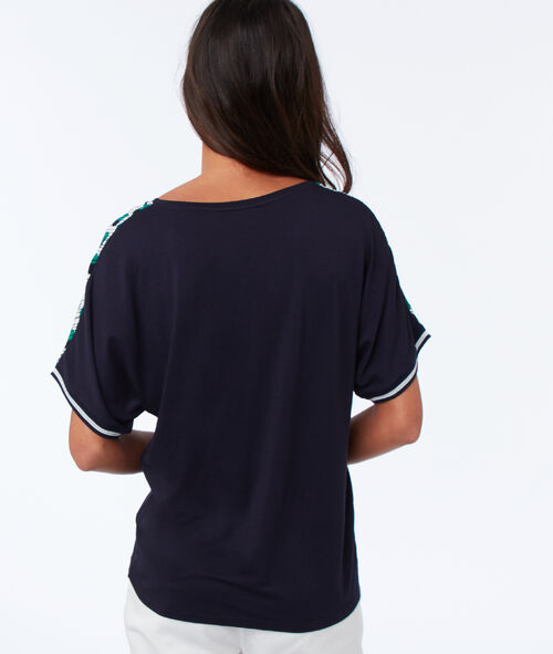 T-shirt à pois