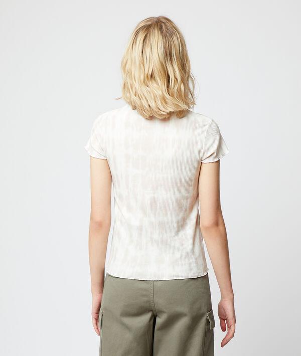 T-shirt côtelé