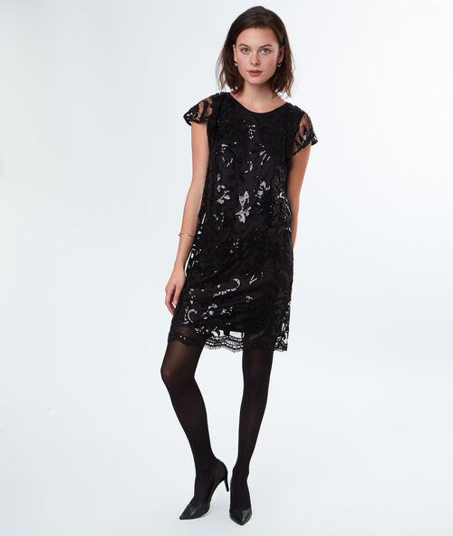 Robe tulle et sequins